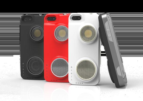 Peri Duo Case – чехол для iPhone со встроенной Bluetooth-аудиоколонкой