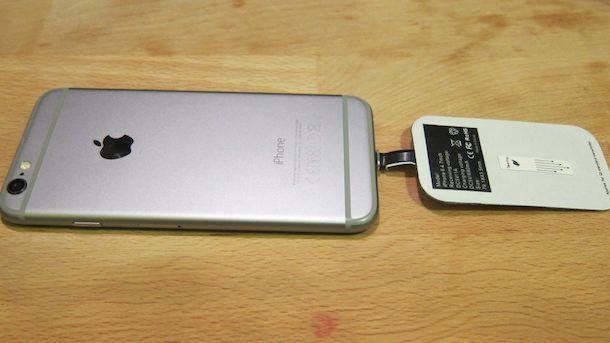 Беспроводная зарядка для iPhone 6 своими руками-2