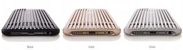slit - дюралюминиевый чехол для iphone-6