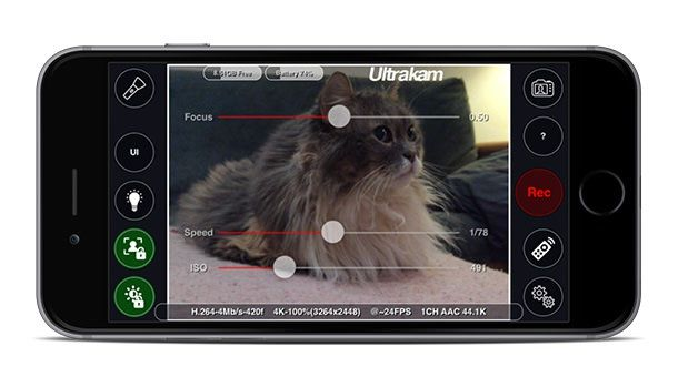 Ultrakam 4K