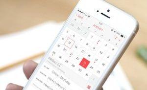 Календарь в iOS 8