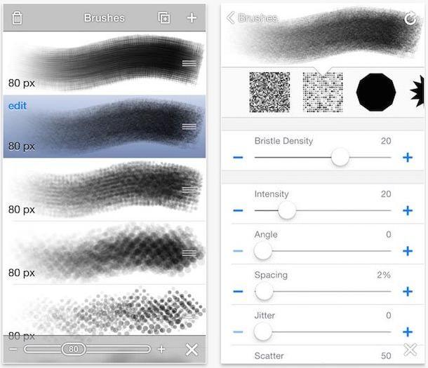 Brushes 3 iphone ipad