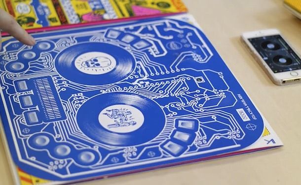 DJ пульт из бумаги