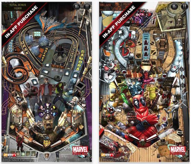 Marvel Pinball для iPhone и iPad