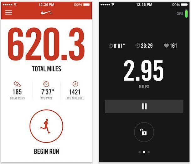 Nike+ Running для iPhone