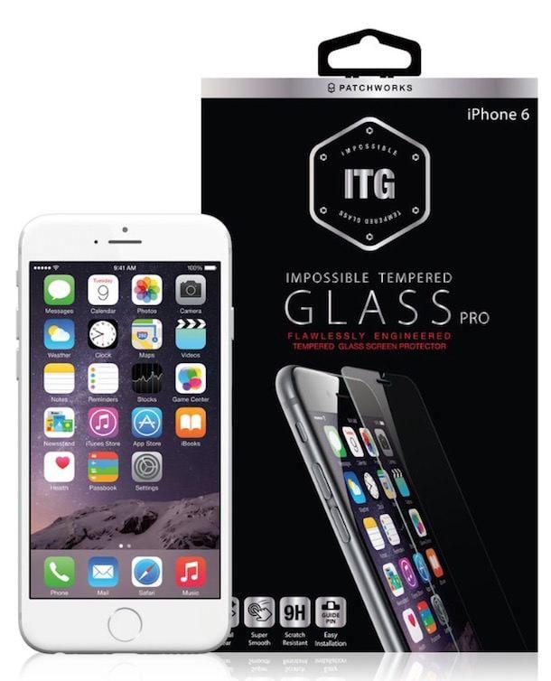 Patchworks ITG Edge - защитная пленка-стекло для iPhone 6