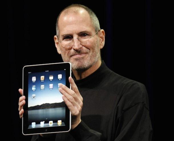 Стив Джобс представляет iPad, 2010 год