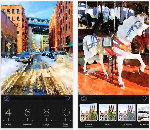Waterlogue для iphone и ipad