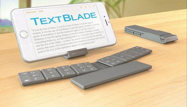 Клавиатура TextBlade