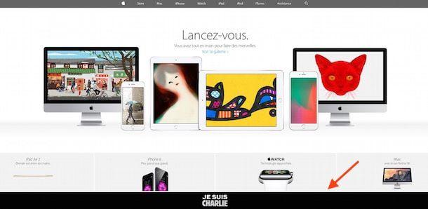 Apple, солидарность с жертвами теракта