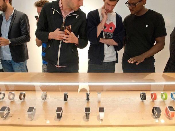 Люди интересуются Apple Watch
