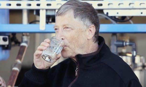вода Билла Гейтса