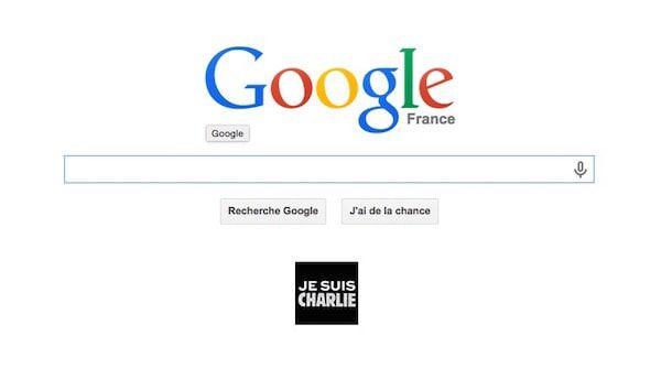 Google, солидарность с жертвами теракта