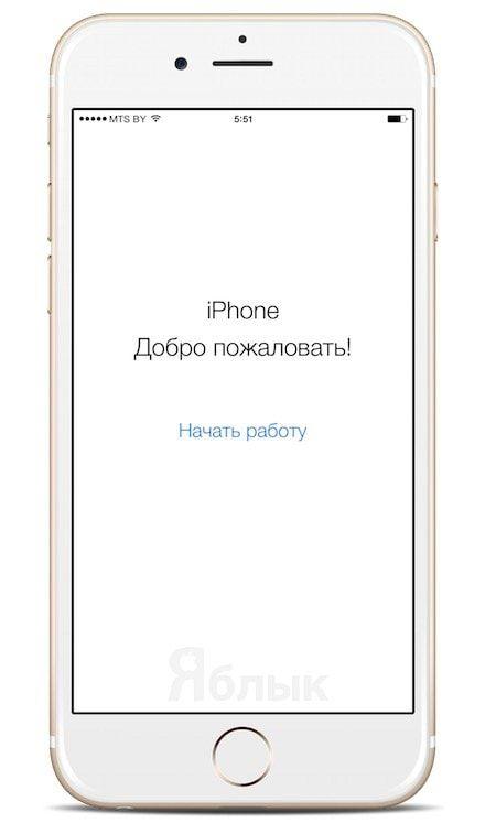 Добро пожаловать iPhone 6