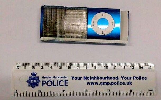 кража при помощи iPod