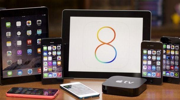 iOS 8 установлена на 70% мобильных устройств Apple