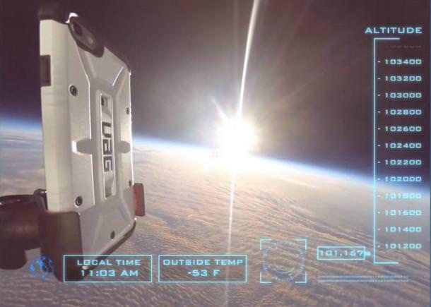 Дроп-тест: падение iPhone 6 из стратосферы