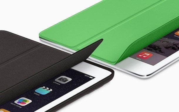 Smart Cover позволят взаимодействовать с интерфейсом iPad