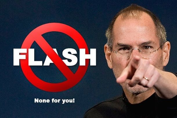Стив Джобс против Flash