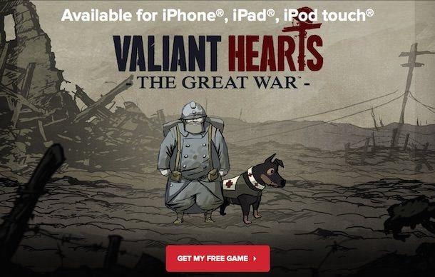 Игра Valiant Hearts: The Great War для iPhone и iPad