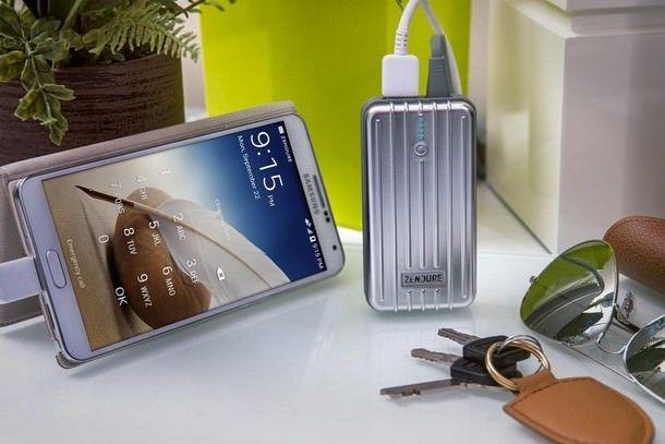 портативных зарядных устройств