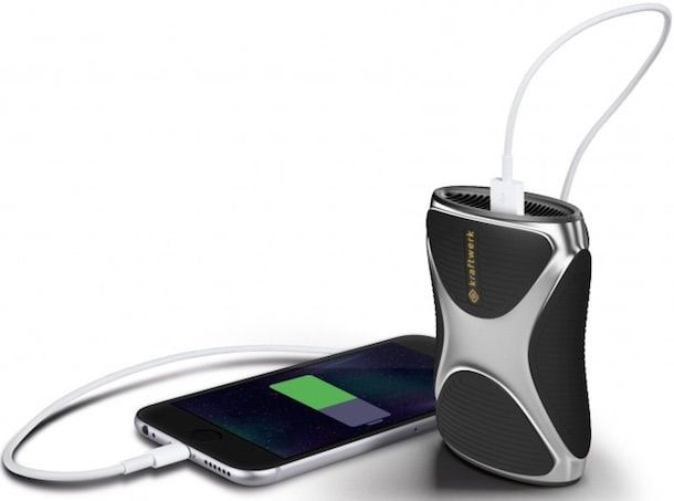 Kraftwerk - «карманная электростанция» для iPhone на 11 зарядок