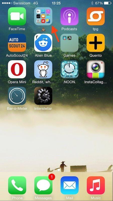 Бесполезные приложения Apple