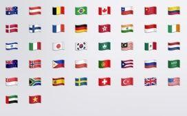 Emoji флаги