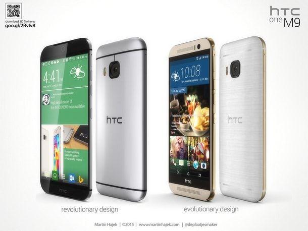 Концепт HTC One (M9)
