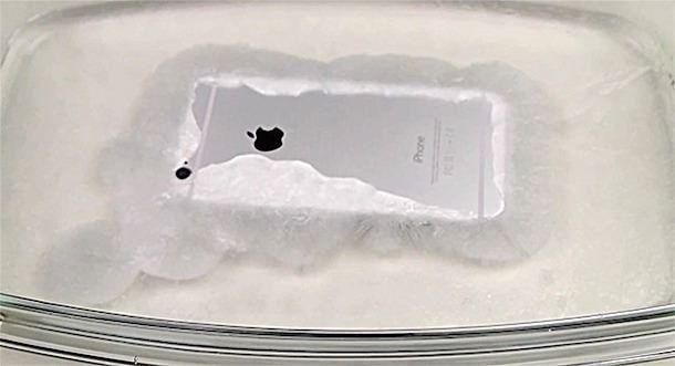 iPhone 6 и горячий лед