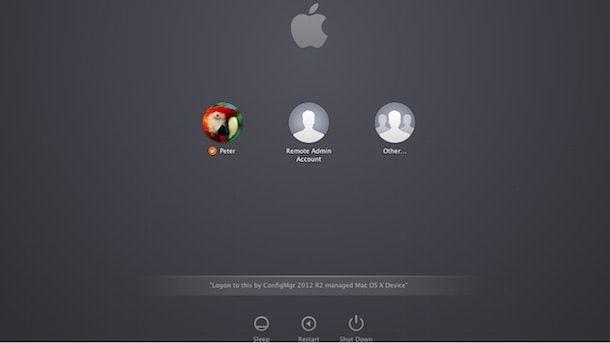 Переключение пользователей в OS X