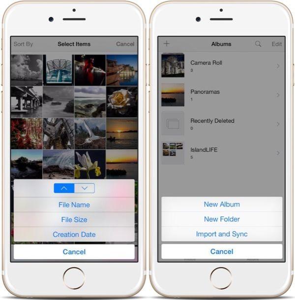 Твик Photo Organizer 8 – быстрая и удобная работа с фотографиями в iOS 8