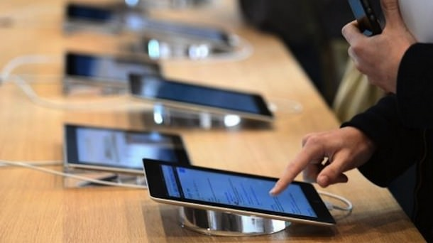 В январе текущего года продажи планшетов снизились на 17%