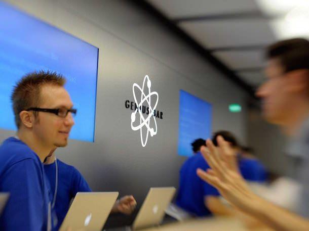 Поддержка в Apple Store