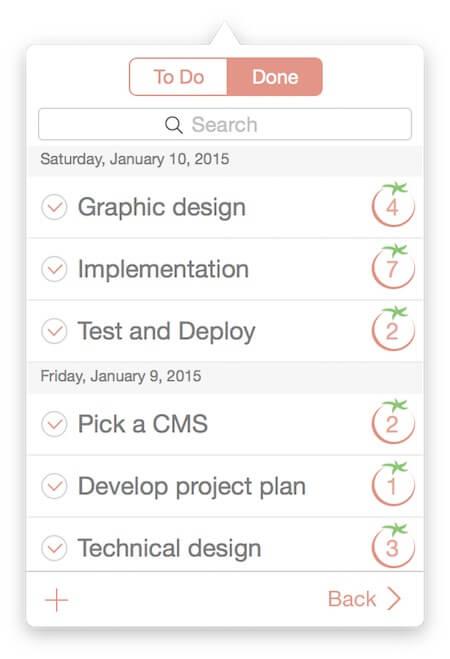 Программа Pomodoro Time для Mac и iPhone iPad-3
