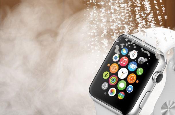Apple watch, водонепроницаемость