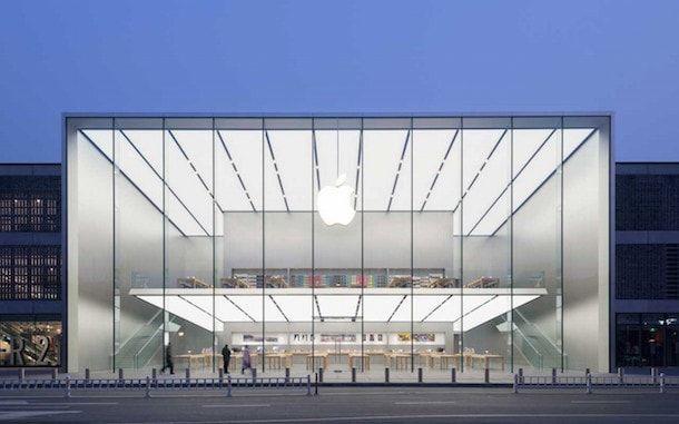 Новый Apple Store в Китае