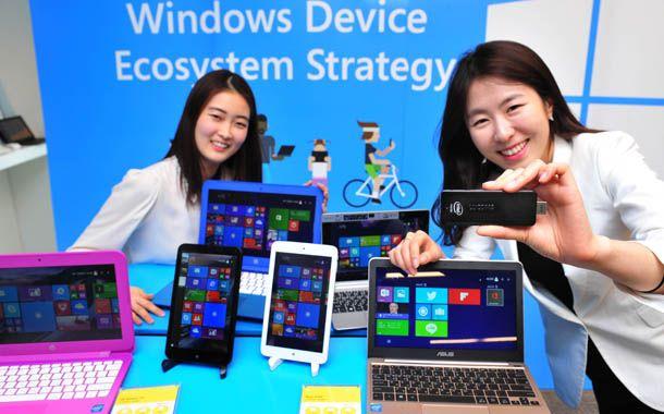 Донгл, Microsoft, Windows 8.1