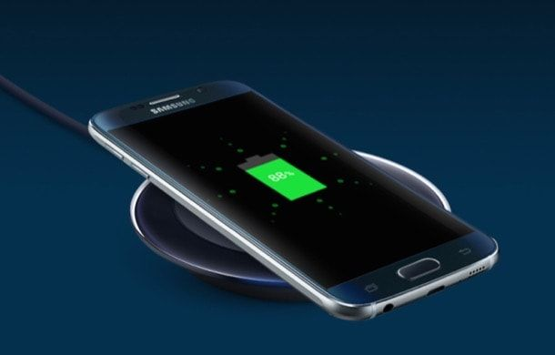 Galaxy S6 беспроводная зарядка