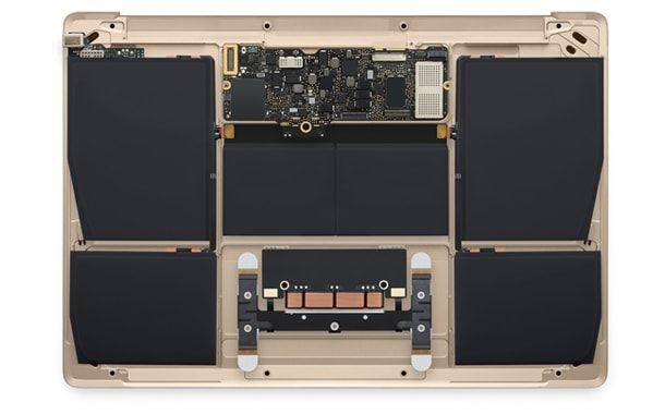 MacBook, батарея