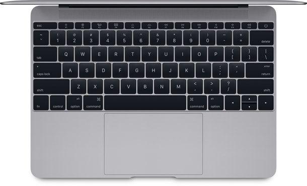 MacBook, трекпад