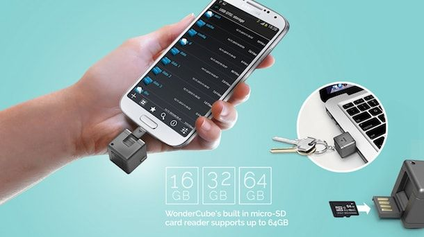 Универсальный брелок WonderCube-5