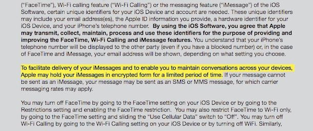 apple save imessage data user