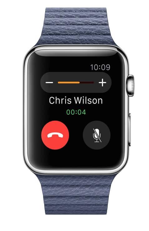 как звонить с Apple Watch