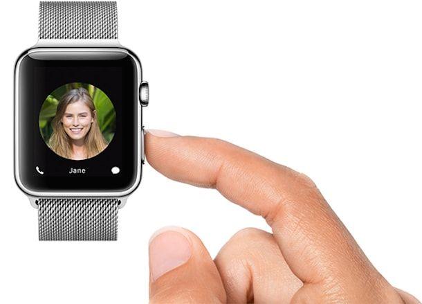 apple watch контакты
