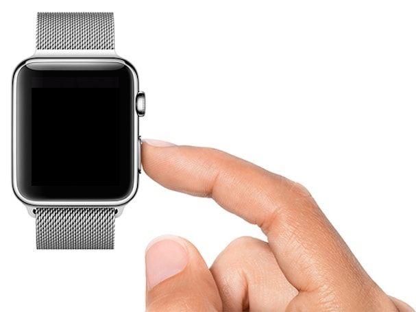 apple watch выключить