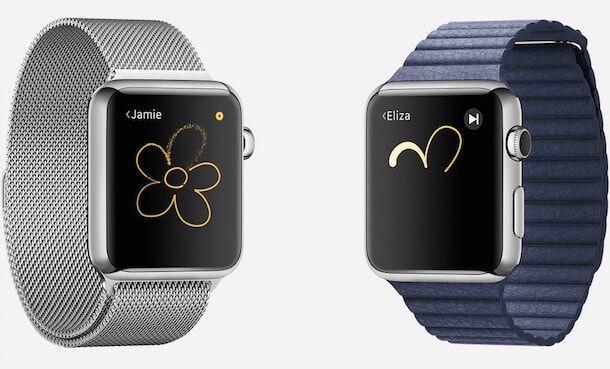 Рисунки на Apple Watch