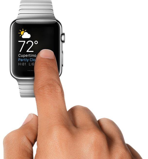 apple watch погода