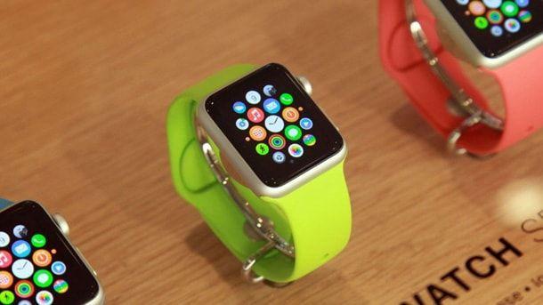 apple watch, vitrina