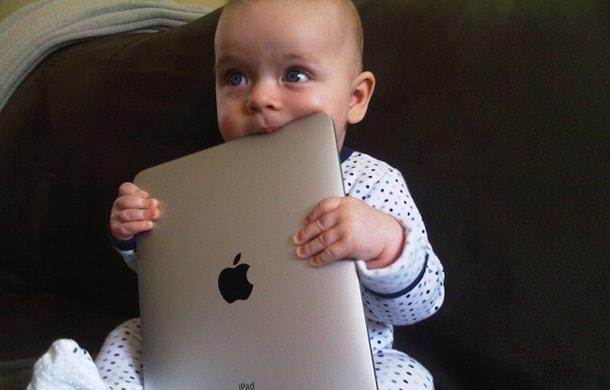 дети, планшеты